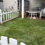 After Clean Up and Adding Fresh Sod in Germantown