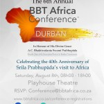 Upcoming: BBT Africa conference for 2015