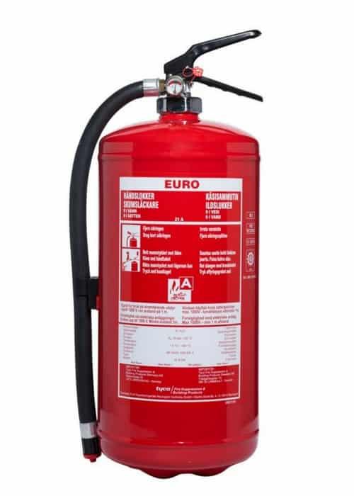 9 liter vandslukker EURO