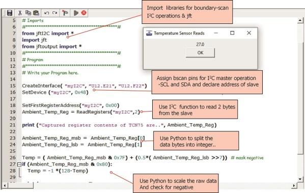 JTAG Live Script Python