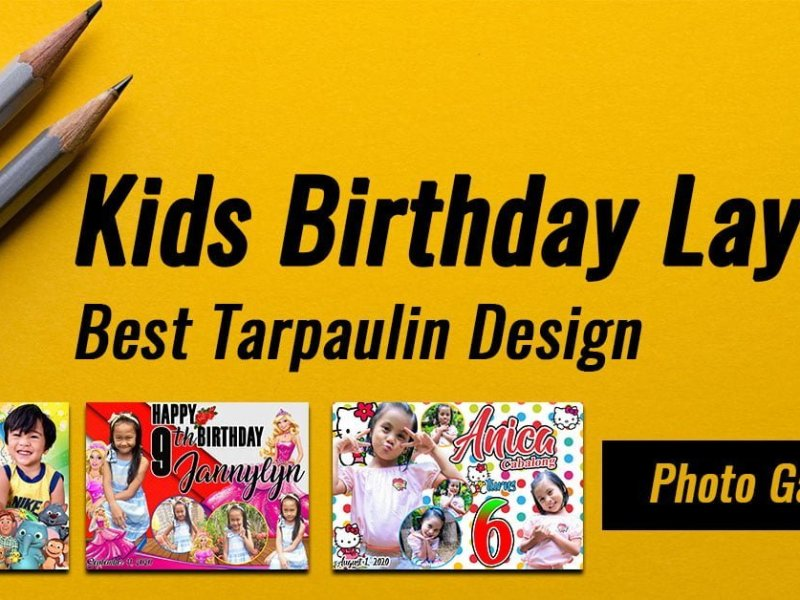 Kids birthday Layout featured image