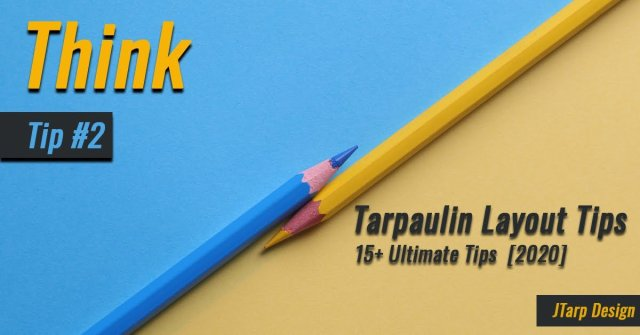 Tarpaulin tips layout number 2 think