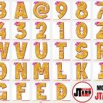 JTarp Design Thumnail Gold and Pink Printables Tutu Unicorn Crown