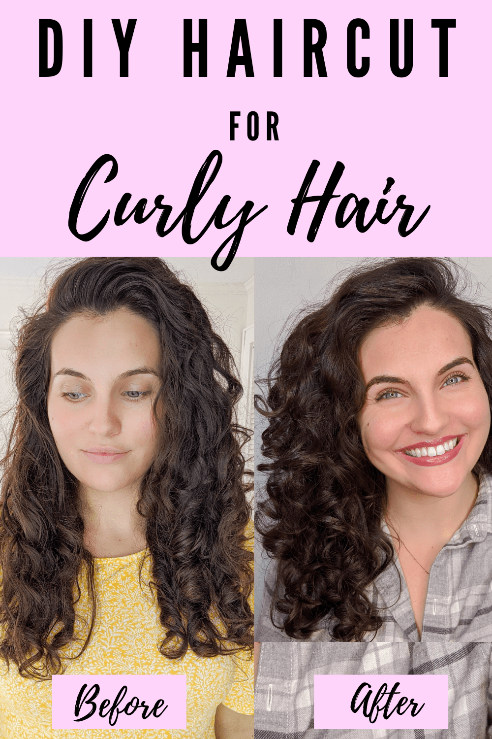 Super Easy Diy Haircut For Curly Hair J Tay And Little A