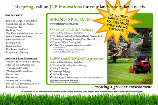 jtb innovations lawn maintenance
