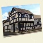 Weobley Postcard Angle - Ref L03