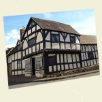 Weobley Postcard Angle - Ref L03