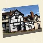 Market Pitch, Weobley Postcard Angle - Ref L07