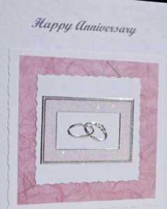 Anniversary Card Closeup - Ref P120