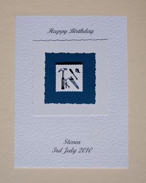 Handyman - Men's Birthday Card Front - Ref P165