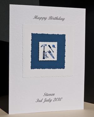 Handyman - Men's Birthday Card Angle - Ref P165