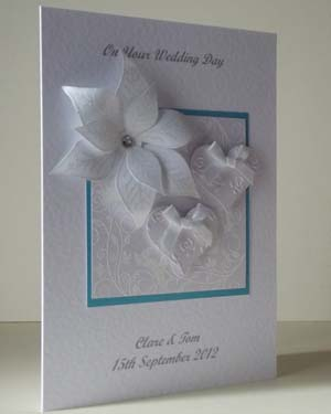 Elegant Wedding Card Angle - Ref 184
