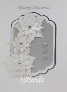 Christmas Card in Silver - Blog