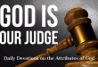 God is our Judge - Daily devotions on the attributes of God from jtdyer.com