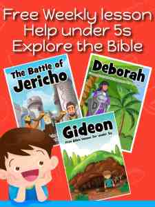 Trueway Kids - Free preschool Bible lessons