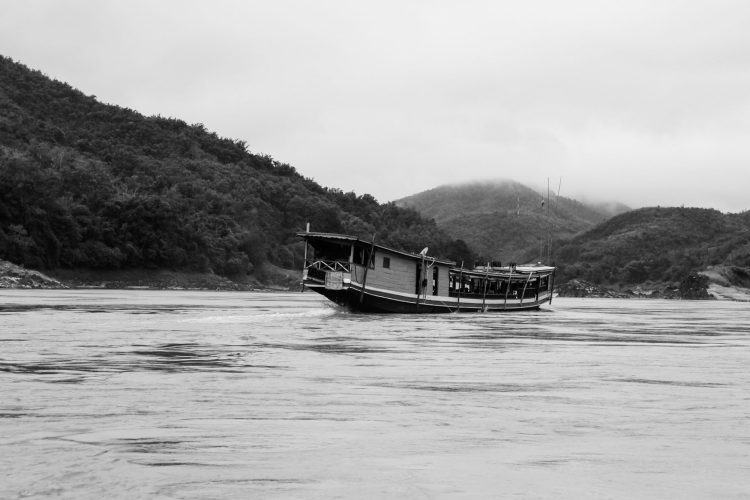 Slow boat sur le Mekong