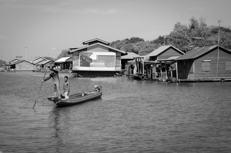 Tonlé Sap village flottant