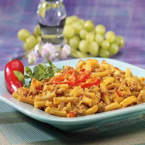 Cheesy Nacho Pasta