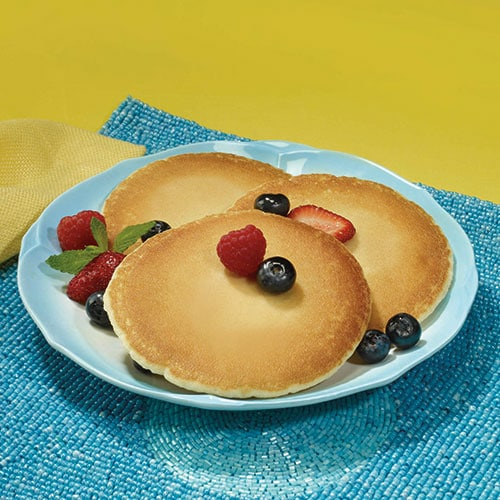 Homestyle Pancakes with Fiber