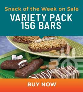 Snack of the Week on Sale: Variety Pack 15g Bars