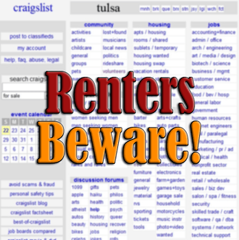 A Rental Scam in Ft Wayne