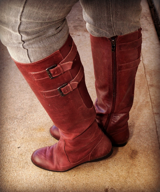 Riding boots for the 50's, 60's & 70's