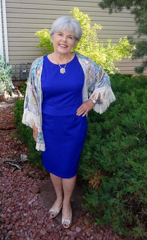 Kimono topper for women over 60