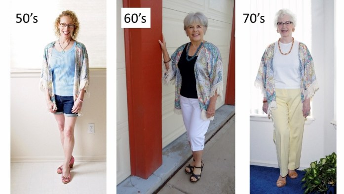 kimonos for the 50's, 60's & 70's
