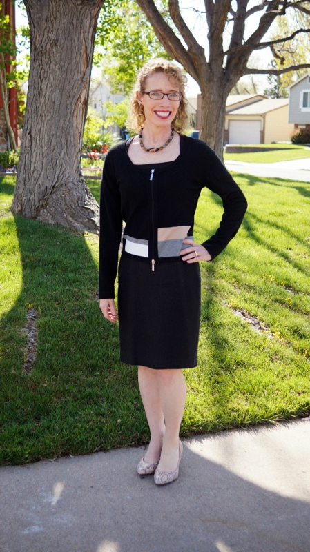 Little Black Dress for the Fall for women in their 50's, 60's & 70's