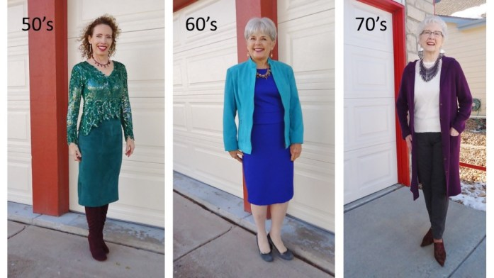 New Year's Eve for the 50, 60 & 70 year old women.