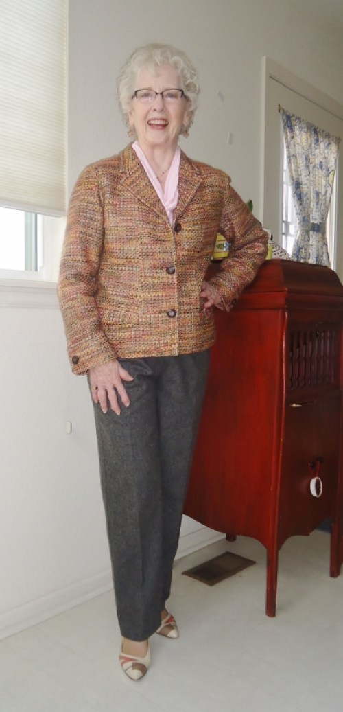 Tweed Jackets for women in their 50's, 60's, & 70's.
