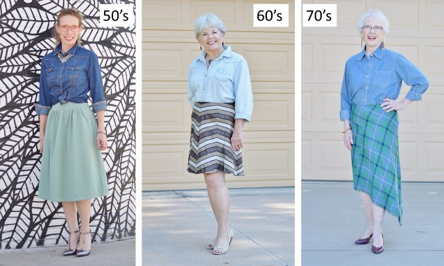 Styling & Fashion for women in their 50's, 60's, & 70's.