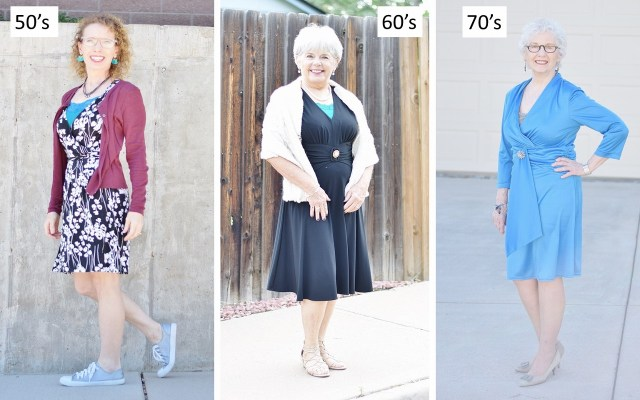 Camisoles for Women in their 50's through 70's.
