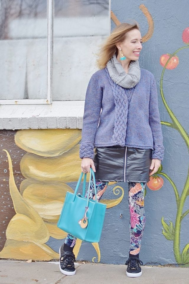 Leather Skirts for Women in their 50's, 60's & 70's.