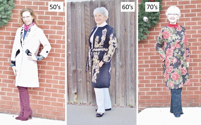 VIPme coats for women over 50.