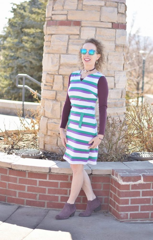 Styling our T-Shirt Dresses for the Colder Months.