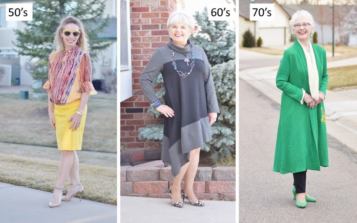 Stylish Women of Many sizes, ages & budgets.