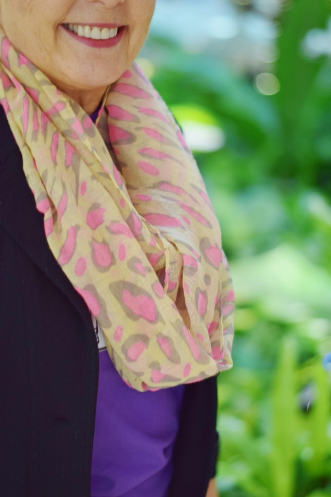 Women over 60 with scarves