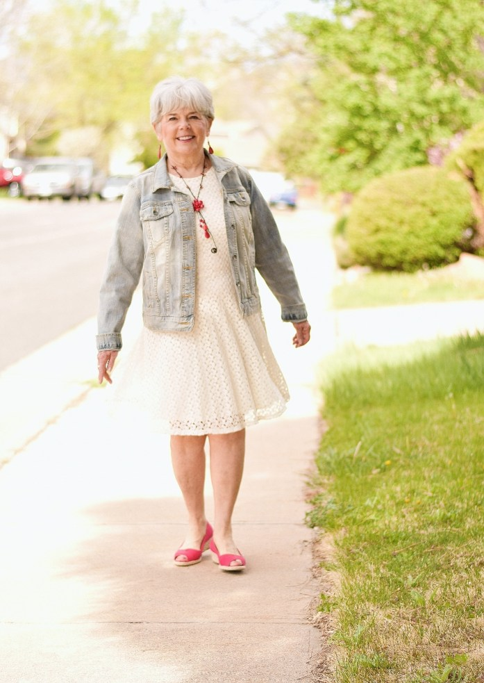 60+ Women looking stylish