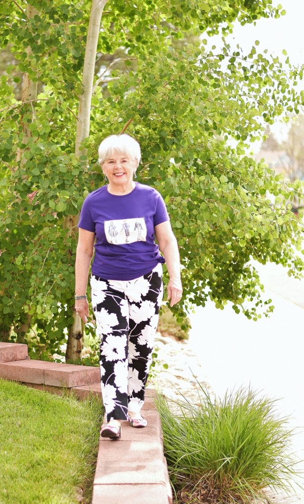 T-shirts Get glammed up for women over 60