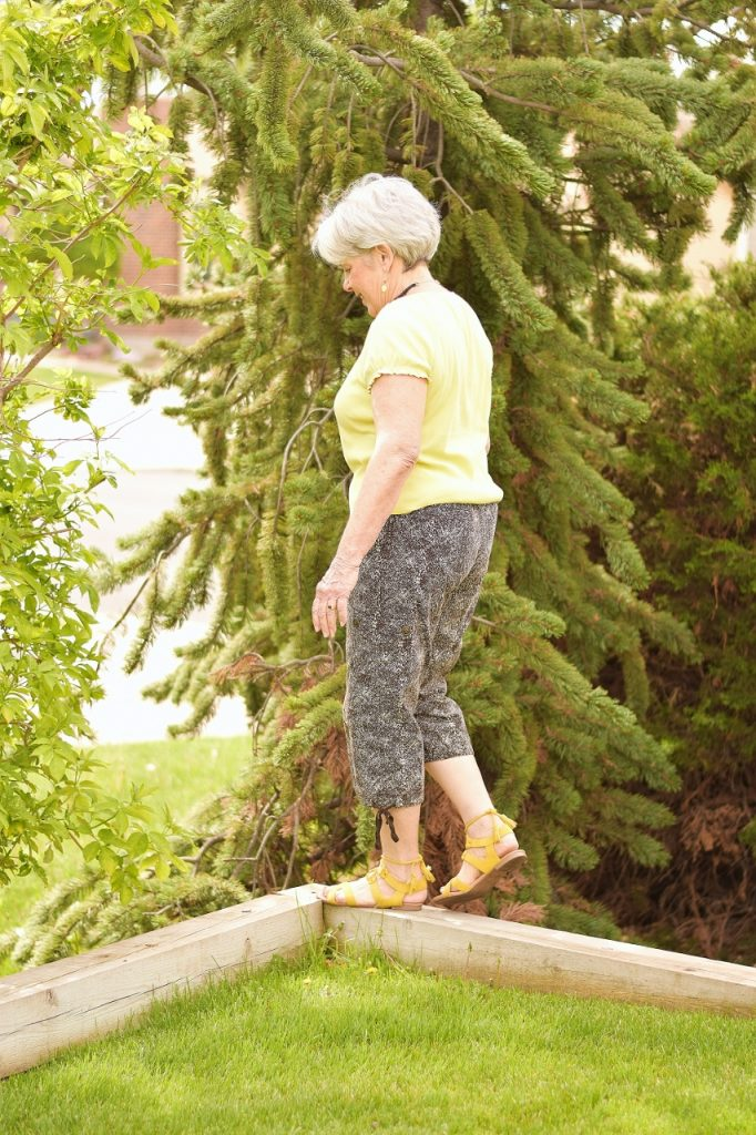 Women Over 60 with Capris and Sandals for summer event outfits