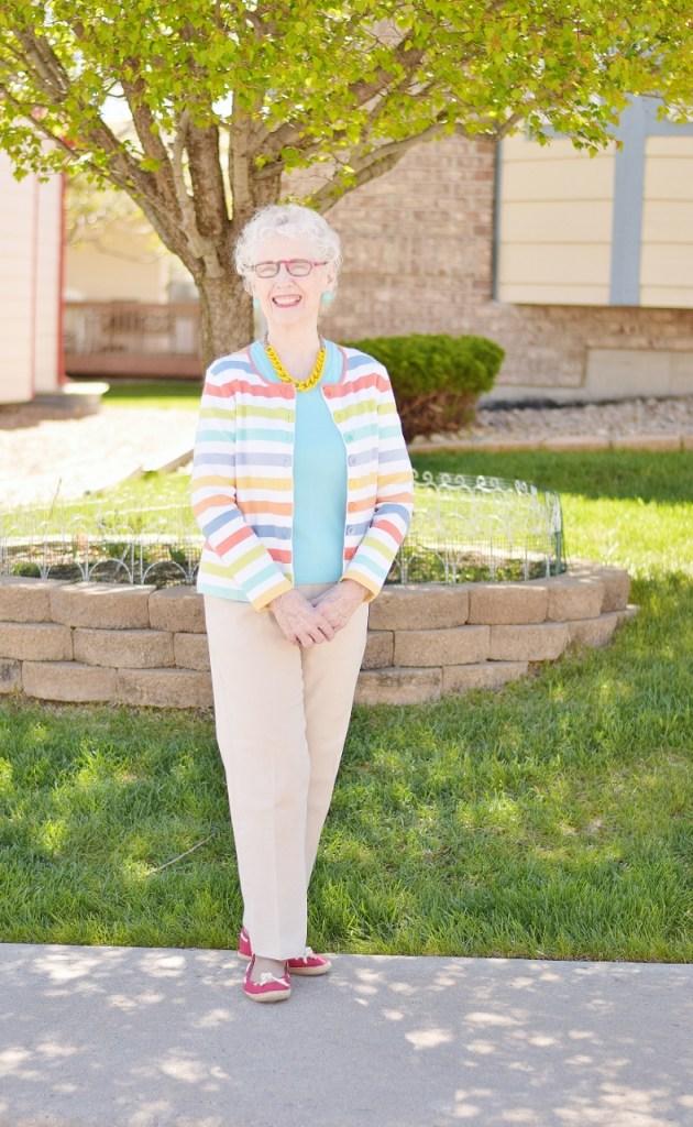 Women over 70 & Fashion