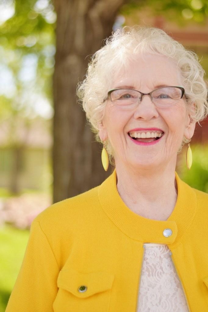 Yellow for older women
