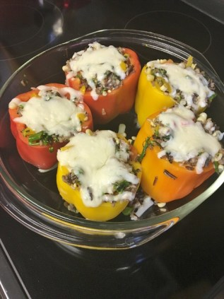July Events with Stuffed Peppers