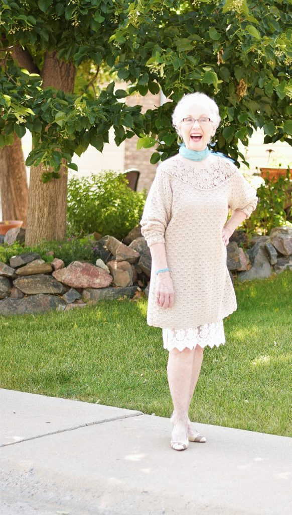 Women over 70 & dress extender