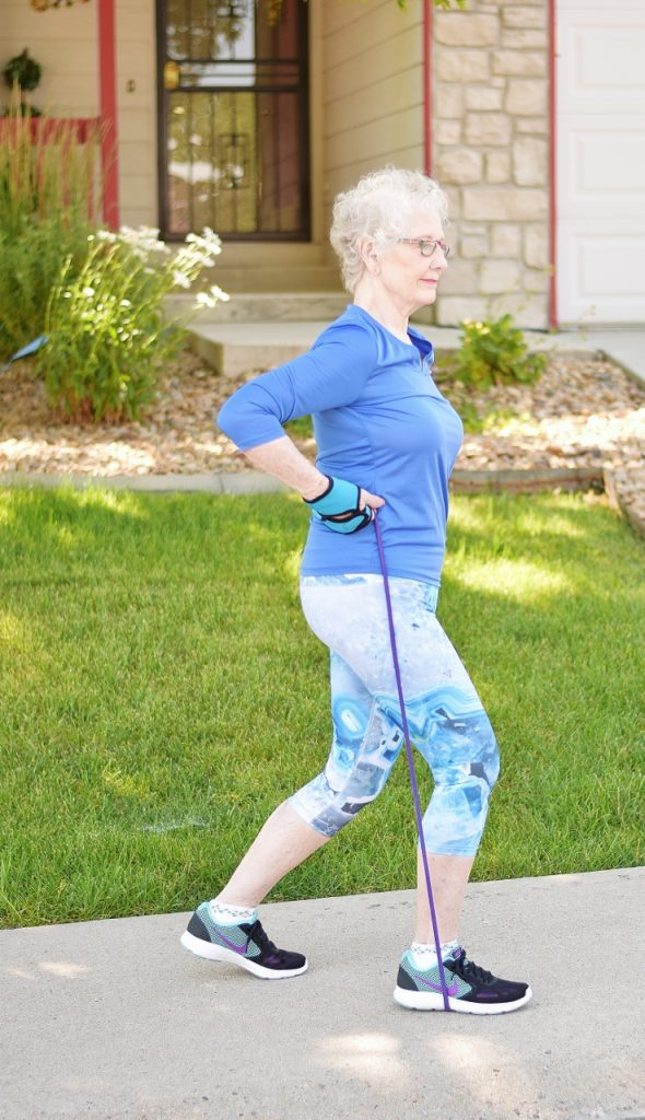 70+ Woman wearing Confused Girl Leggings