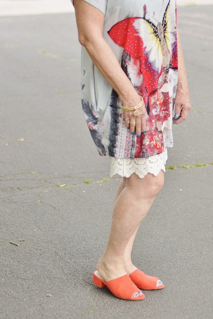 Women over 60 & dress extender