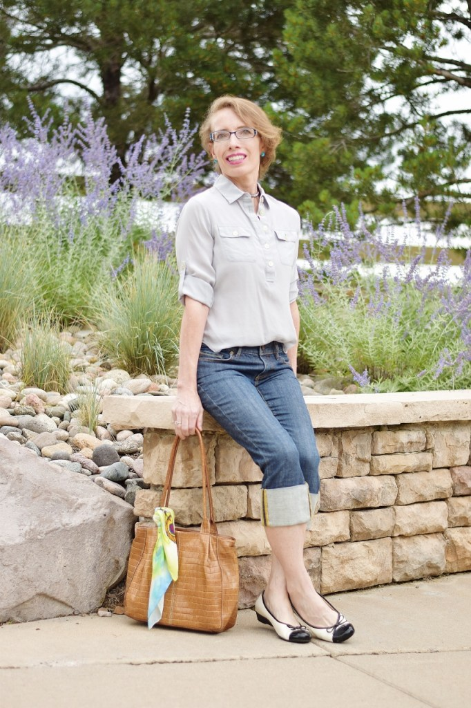 French Chic Capri Style for women over 50