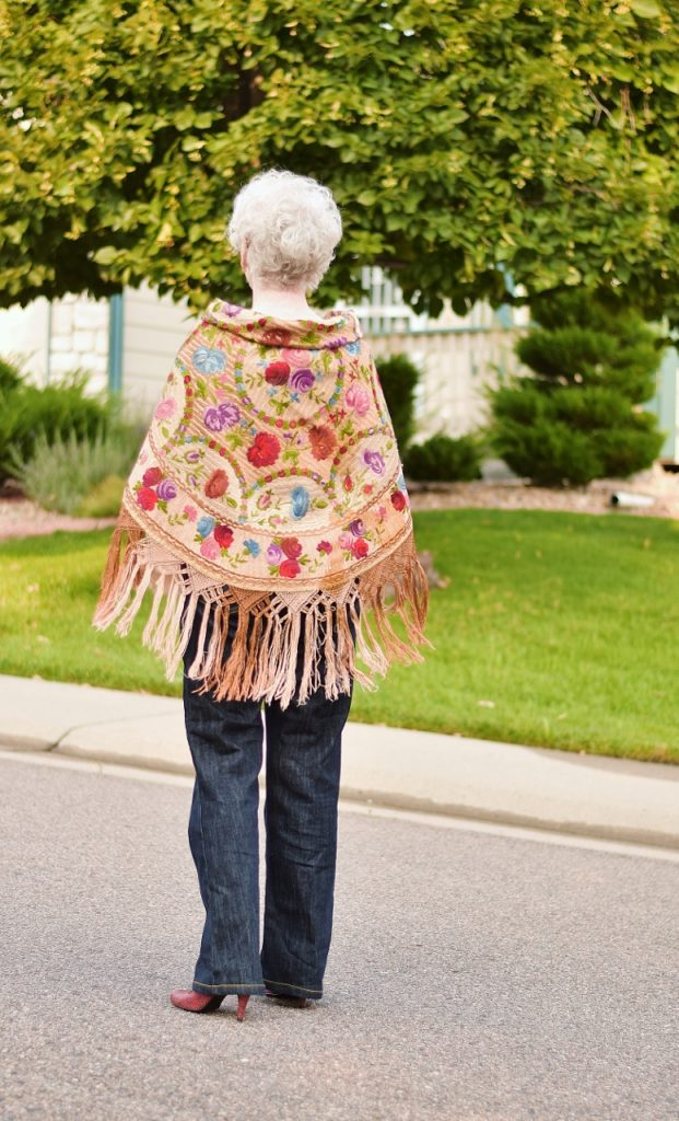 70+ Women wearing sentimental items