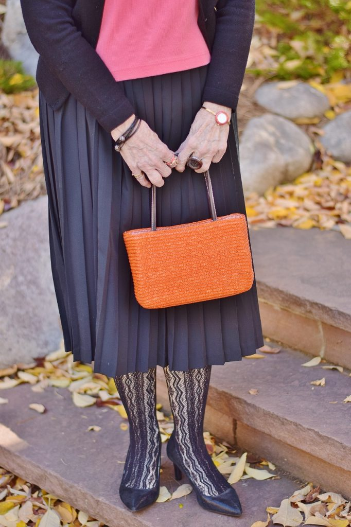 Orange and Black Works great for Dress up